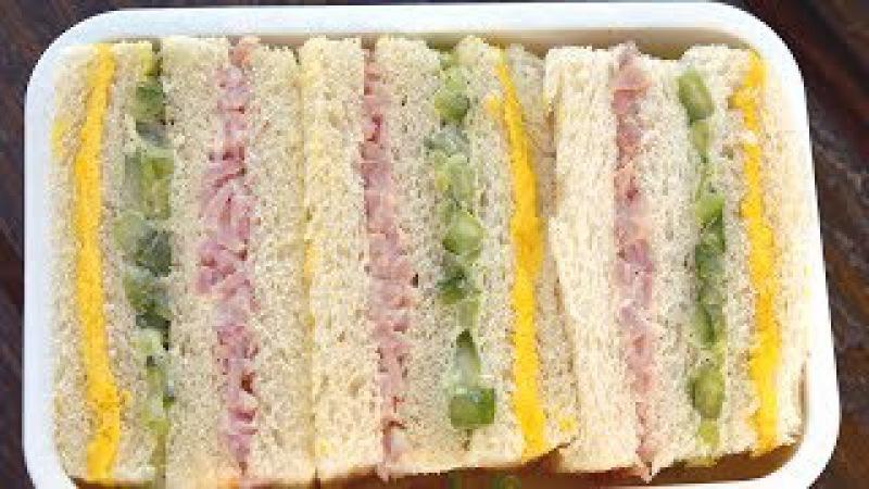 Three color sandwich (Samsaek sandwich : 삼색샌드위치)