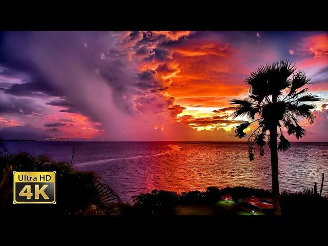 4K Video Ultra HD 💚 самые красивые закаты