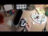 DIY Микки Маус на кедах