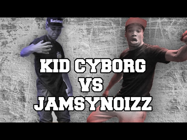 KID CYBORG VS JAMSY BOUNCING WALL SESSION Krump battle Paris