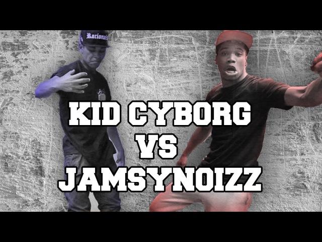 KID CYBORG VS JAMSY BOUNCING WALL SESSION Krump battle Paris
