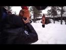 Hailey Clauson  Bo Krsmanovic Go Dog Sledding In Finland - On Set - Sports Illustrated Swimsuit