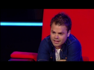 Charly Luske - This Is A Mans World (The Blind Auditions _ The voice of Holland 2011)