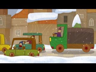Сериал для мальчиков Машинки. Снегоуборочная машина. Развивающие мультики про машинки