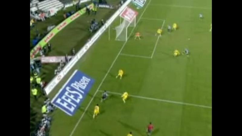 2007 - 2008 Sezonu - Beşiktaş-MKE Ankaragücü dakika 45 gol Serdar Özkan