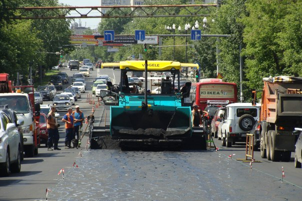 Краевые и городские чиновники ринулись с дорожной инспекцией в центр