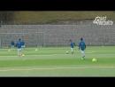Fussballtraining Die Pass Rute Passen Technik
