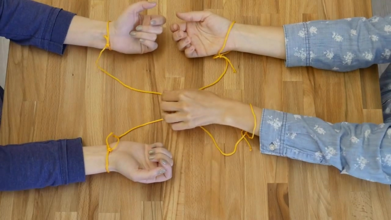 Как выпутаться из верёвочной западни
