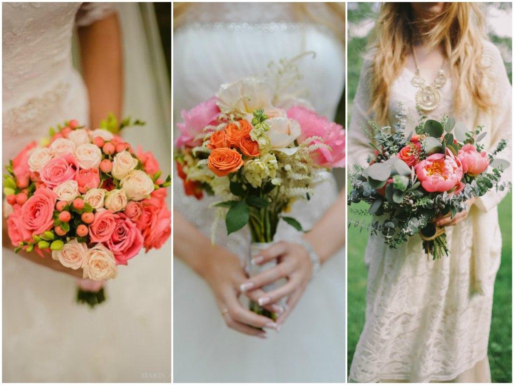 Свадебный стиль: элегантный коралловый