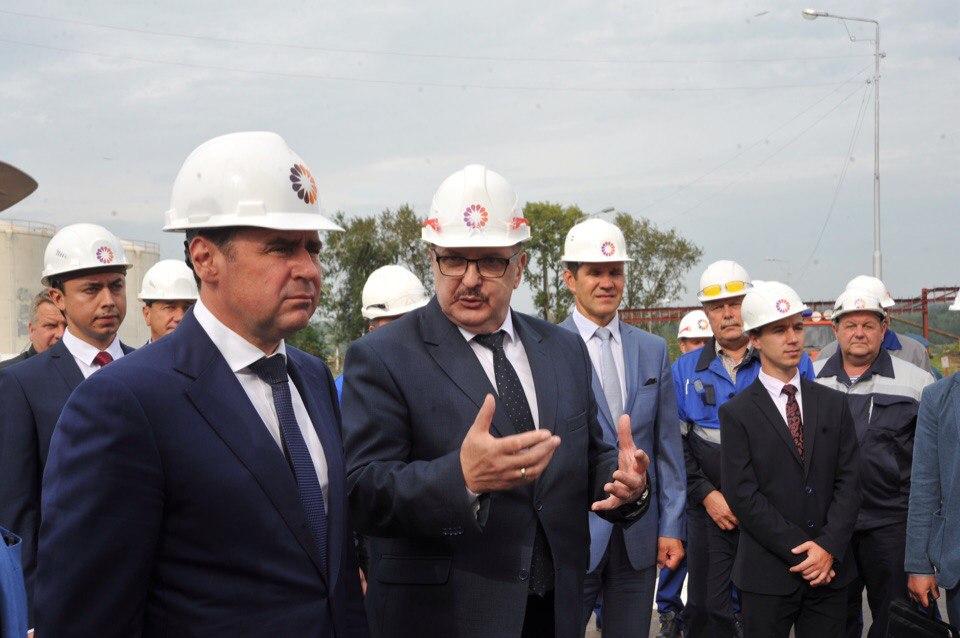 Дмитрий Миронов: после возрождения НПЗ имени Менделеева расширит линейку продукции