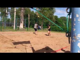 финал часть 2 .пляжный волейбол