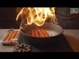 Рецепт_Хот-дог с Дижонскими колбасками от Велком