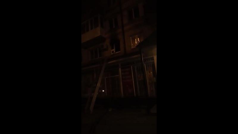 Возгорание в районе КПД: задохнулась кошка