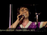 The Who - Behind Blue Eyes (Kilburn, 1977)