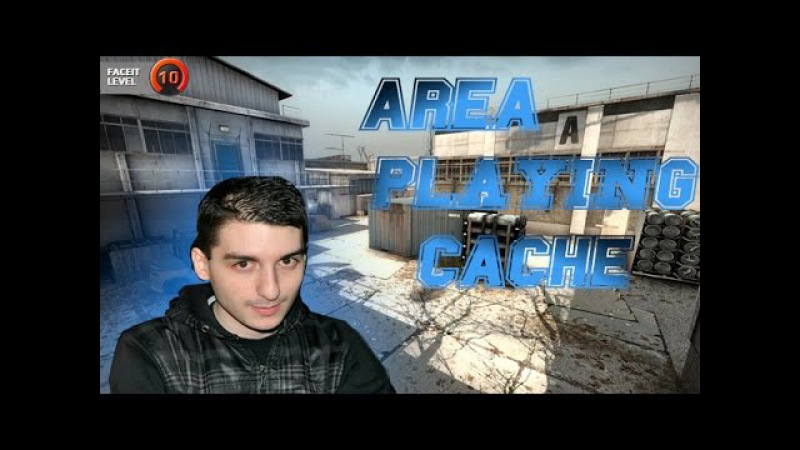 CS:GO | AREA - playing FACEIT on Cache