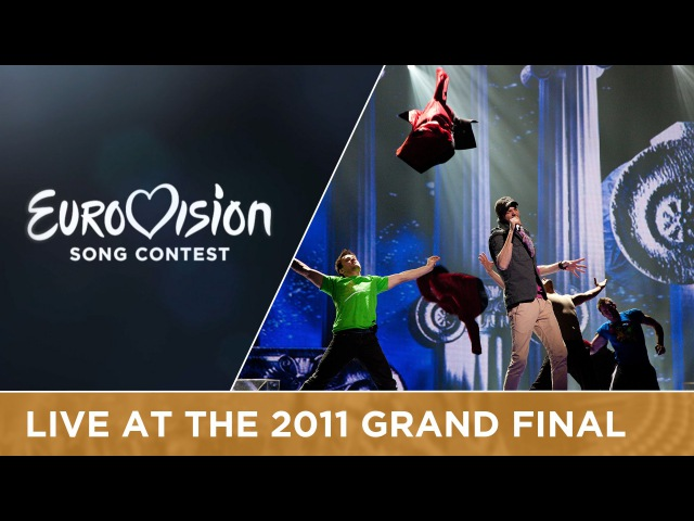 Loucas Yiorkas feat. Stereo Mike - Watch My Dance (Greece) Live 2011 Eurovision Song Contest