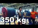 How do Chinese Weightlifters train? Lu Xiaojun, Tian Tao Liao Hui