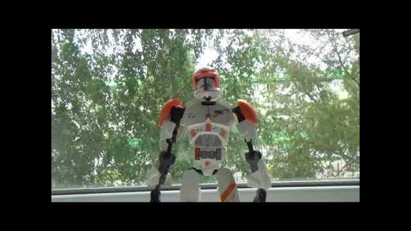 обзор на набор lego star wars фигурка клона