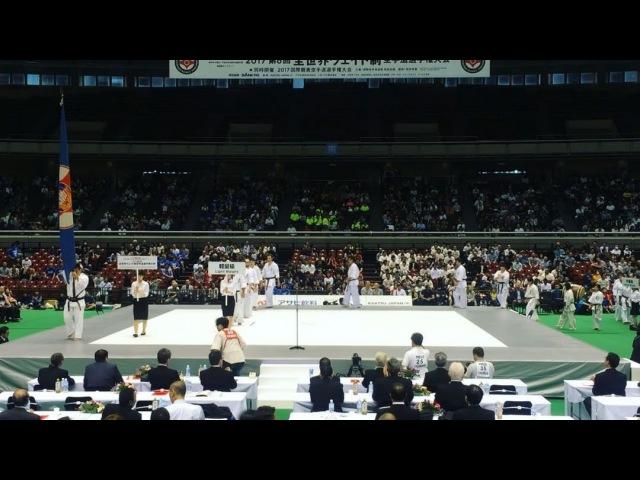 Парад участников 6wwiko superkarate kyokushin kyokushinkai IKO IKO1