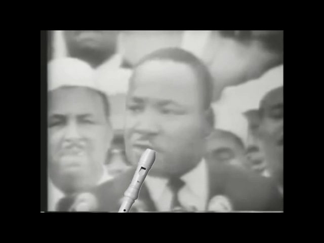 MARTIN LUTHER KING - I HAVE A DREAM - SHITTYFLUTED
