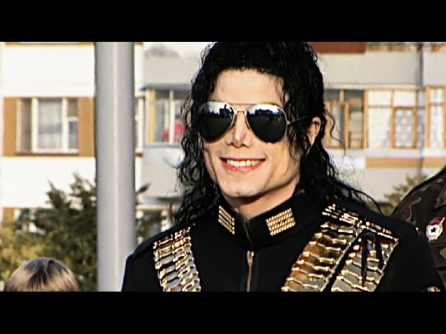 Michael Jackson Moscow Case 1993 HD