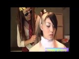 Head Shave - Forced Headshave for Cute girl in Bikini