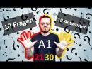 Разговорный немецкий язык, урок 3 (21-30). 10 вопросов - 10 ответов