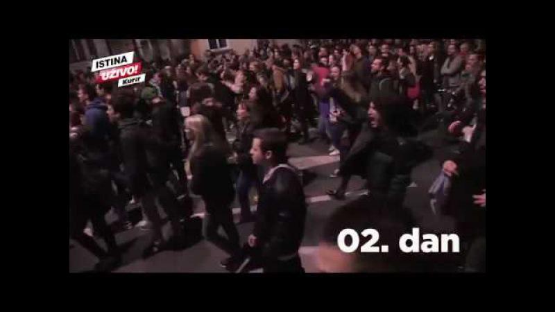 10 dana protesta u 100 sekundi Ovo su najzanimljiviji momenti uličnih demonstracija