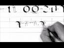 Basic Calligraphy 2 Foundation Hand lowercase
