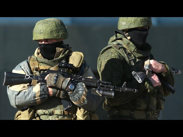 Зеленые человечки Путина в Крыму!