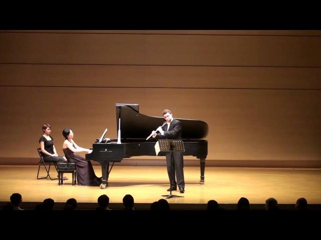 S. Prokofiev: Flute Sonata, op. 94. I. Moderato