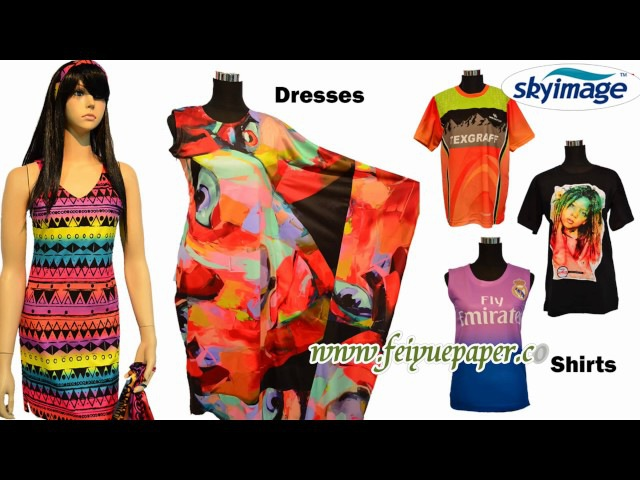 Sublimation Sticky Transfer Paper Transfer Result with Sublimation Ink