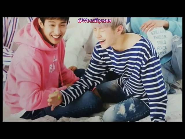 SEVENTEEN's Woozi (우지) Dokyeom (도겸) Moments [Every hit, touch, kick(?), stared] Part 2