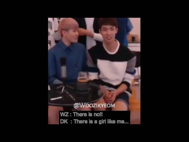 EngSub {SeokHoon} Woozi (우지) Dokyeom (도겸) - Ideal Type @Andromeda ''REUPLOAD''