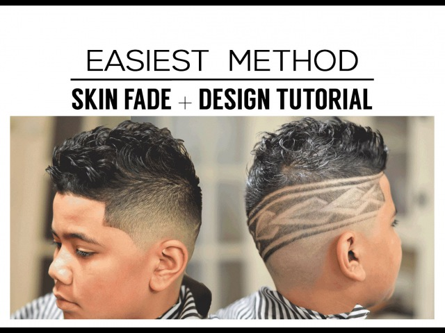 💈HOW TO: MID SKIN FADE | VOICE OVER | BARBER TUTORIAL | POLYNESIAN DESIGN |