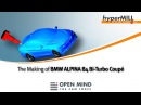 5 Axis Machining BMW ALPINA B4 Bi-Turbo model Automotive hyperMILL CAM DMG HSC 70 linear