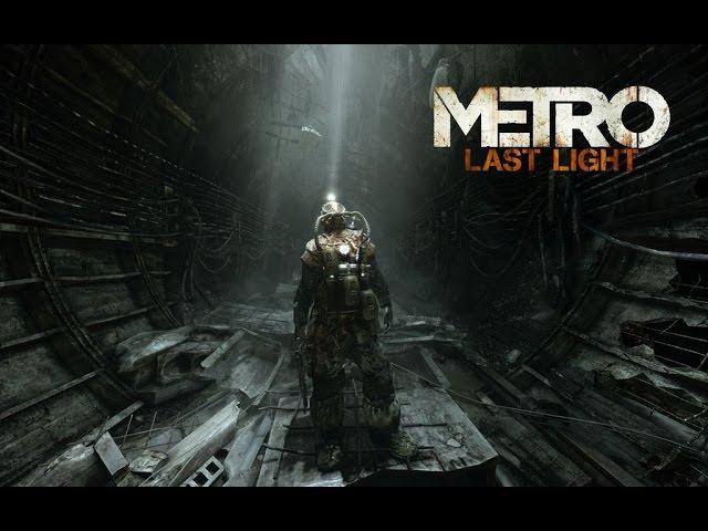 Metro Last Light Игрофильм (Game Movie)
