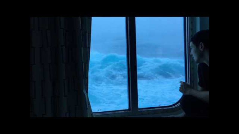 Anthem Of The Seas Vs Huge Waves And 120 MPH Winds. Viewed From My Room On The Third Deck. NO MUSIC!