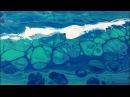 Fluid Art Pour Beginners Club, By Carl Mazur - Ocean Spray 12 x 24