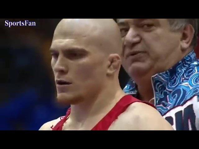 Новороссиец не совладал с соперником в финале чемпионата России по греко-римск ...