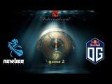 The International 2017 Newbee vs OG Day 2 Game 2