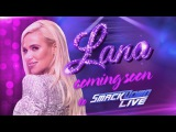 Lana is on her way to Team Blue SmackDown LIVE, April 25, 2017