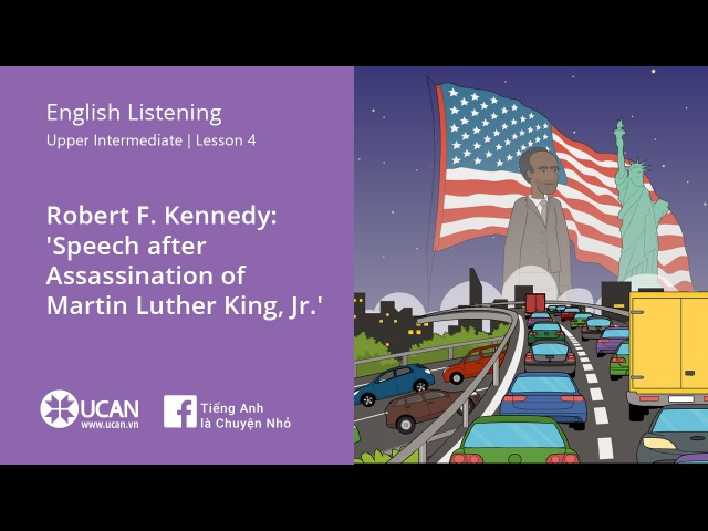Learn English Listening | Upper Intermediate - Lesson 4. Martin Luther King