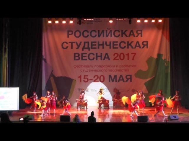 Российская студенческая весна 2017 г.Тула -Танцевальное направление 16 мая