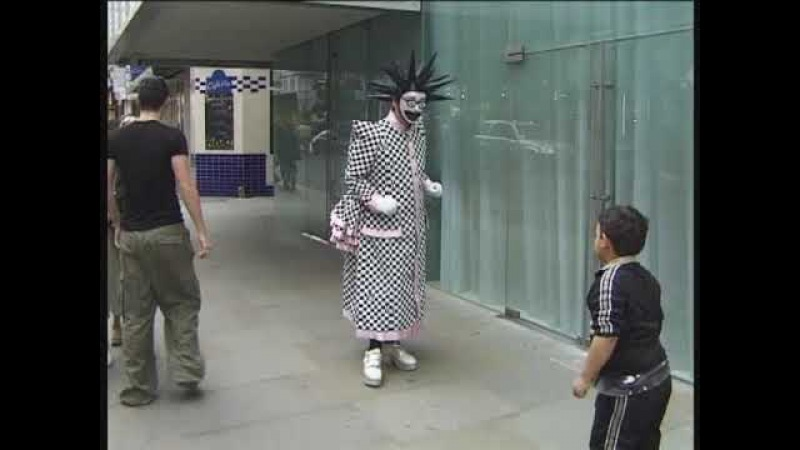 BOY GEORGE DRESSED AS LEIGH BOWERY, RUNNING WILD