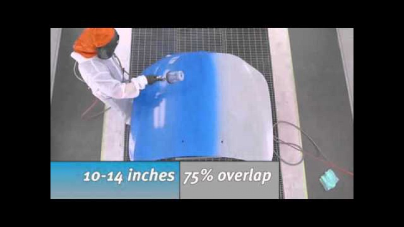 Standox® Standoblue: Waterborne Painter Tip -- 1.5 Application Process (USA)