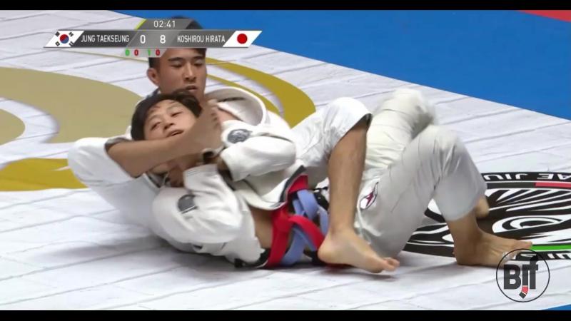 Jung Taekseung vs Koshirou Hirata TokyoGS бжж какпоучебнику