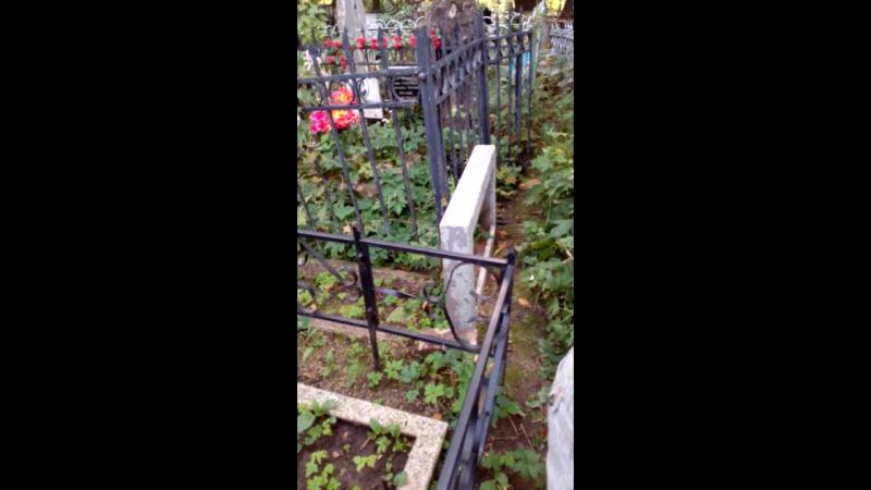 Вандализм и произвол на Скорбящем кладбище Рязани