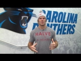 Greg Olsen thanks fans for support of NFL Man of Year campaign