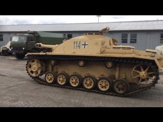ходовой Stug III Ausf F (июль 2017)